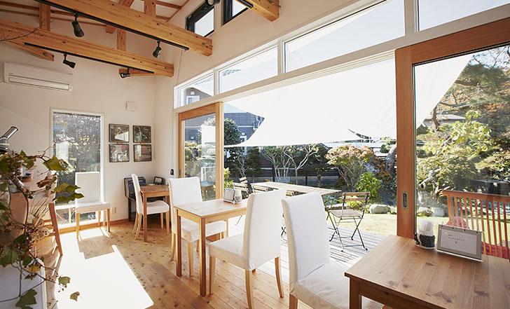 松島にニューオープン☆ジャズが流れるお庭カフェ ≪今週のカフェ&スイーツ*28話『café ALBERT』≫