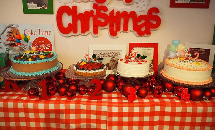 まだ予約間に合います!クリスマスケーキこそホール買い ≪今週のカフェ&スイーツ*番外編≫
