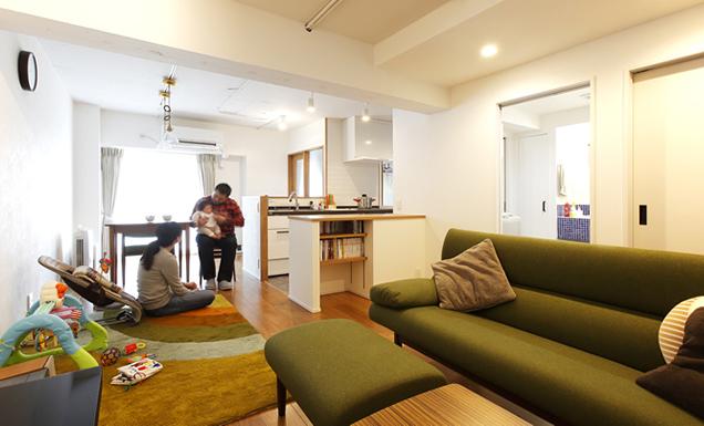 家事動線にこだわった、週末時間を楽しむ住まいにリノベーション!【PR】