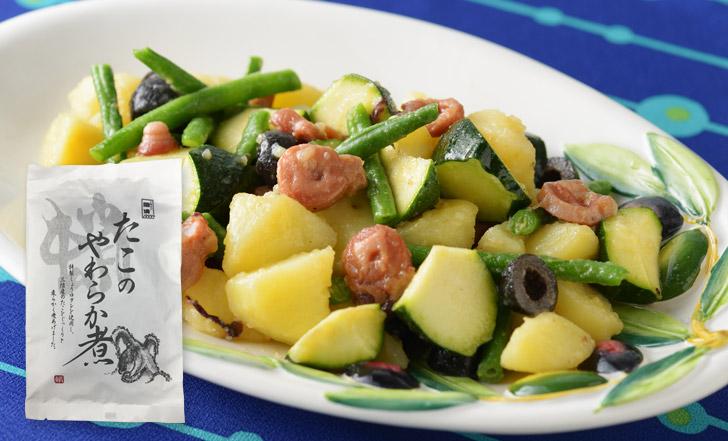 Insalata di polpo e patate (タコとじゃがいものサラダ)いろはレシピ#70