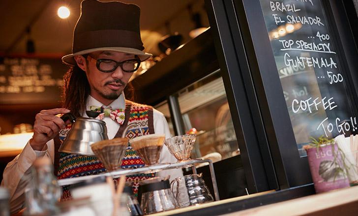 公園で、街角で。外飲みコーヒーのススメ≪今週のカフェ&スイーツ*6話 『SENDAI COFFEE STAND』≫