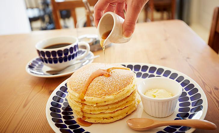 郊外の一軒家カフェで絶品パンケーキ!  《今週のカフェ&スイーツ*8話 『パンケーキ専門店 Hanamizuki Cafe』》