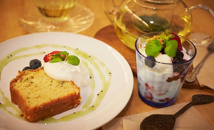 ニューオープン☆蔵王スイーツを街なかで! ≪今週のカフェ&スイーツ*11話 『蔵王咲き茶カフェ in NONNkey』≫