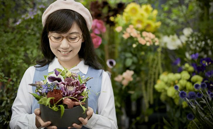 お花の目利きに会いに!大人好みのフラワーショップ 女子的自由研究Vol.47