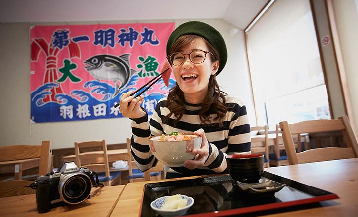 シーパルピア女川で天然マグロを食す! 女子的自由研究vol.14
