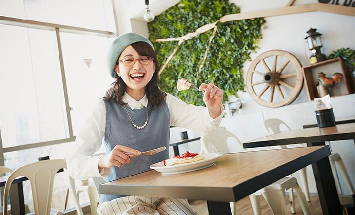 ニューオープン☆カスタードが決め手の春色パンケーキ 女子的自由研究Vol.17