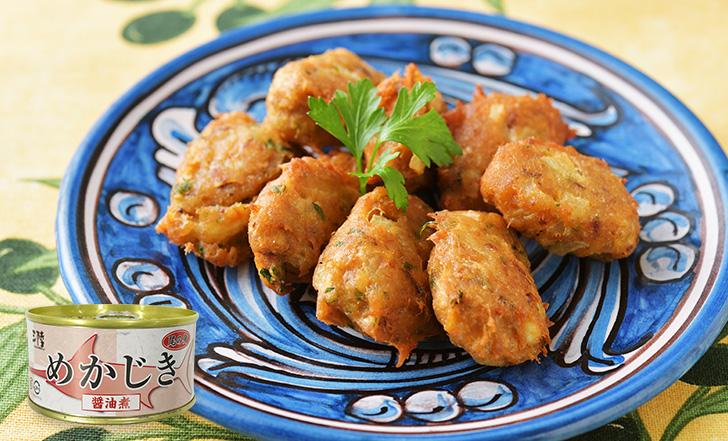 Crocchetta di pesce (めかじき尾肉のふんわり揚げ)いろはレシピ#94