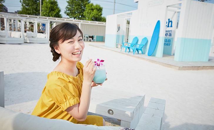 地下鉄で行けるリゾート♡話題のビーチカフェが仙台にオープン 女子的自由研究vol.68