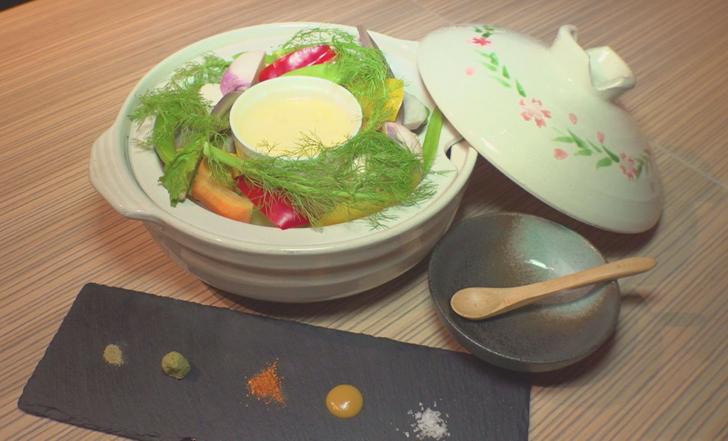 """≪いろはマガジン12月号≫野菜の甘みを楽しむ。""""和""""のチーズフォンデュ"""