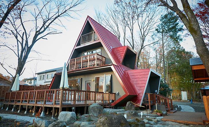 【ニューオープン】森の中に佇む赤い三角屋根のピザハウス 今週のカフェ&スイーツ*57話『赤い三角屋根』
