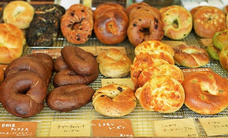 仙台パン図鑑 vol.17 「Bread & Sweets Bagel U」 ~NY仕込みの、むっちりもちもちベーグル~
