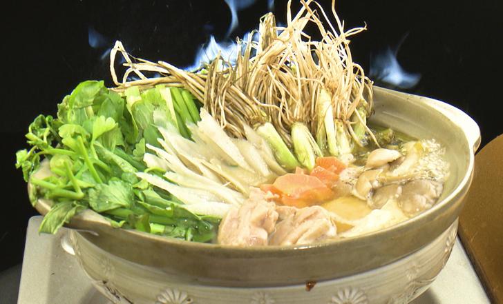宮城の鍋の新定番!本格せり鍋をおうちで♪